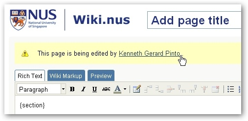 can anyone edit a wiki page