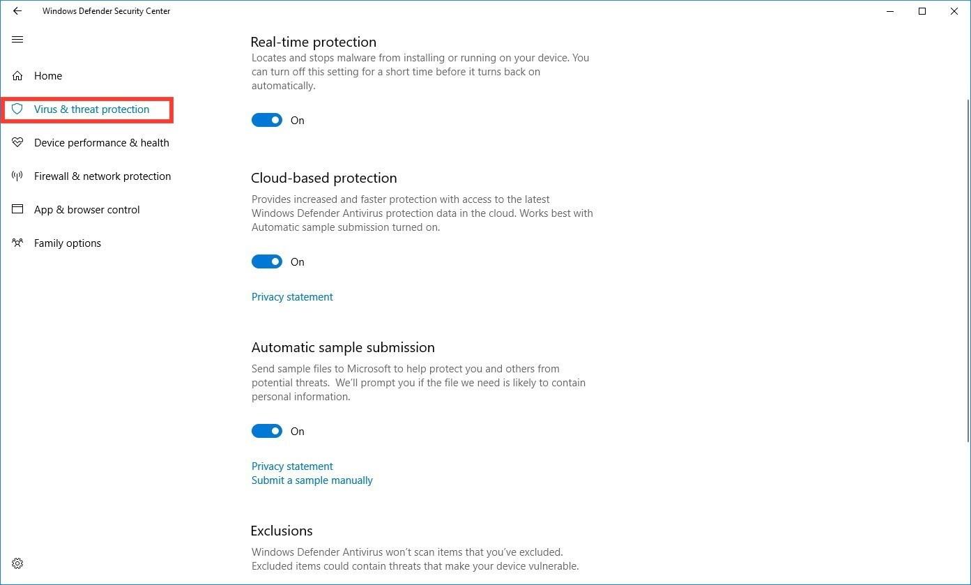 microsoft window defender free download