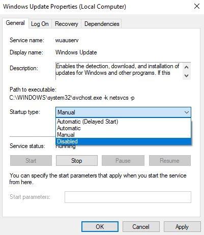 How to Turn off Windows Updates in Windows 10 - Digital