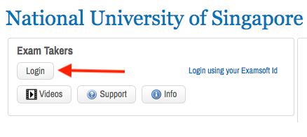 How do I login to the Examsoft web portal? - Digital Assessment